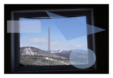 Fenêtre, Petite-Rivière-Saint-François, Charlevoix, Québec.