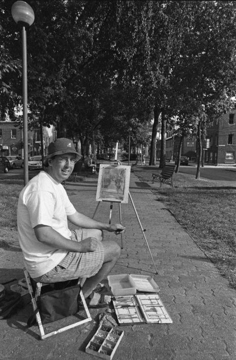 Lucien Duhamel - Artiste de la rue